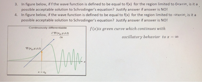 3. In figure below, if f the wave function is defined to be equal to f(fx) for the region limited to 0xxxoo, is it a <00 poss