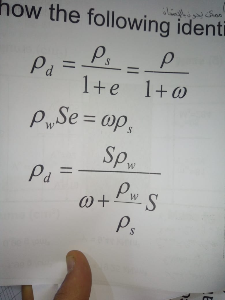 how the following ident 1+e 1+ω Sp Ps